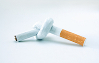 cigarette knot - how to quit smoking